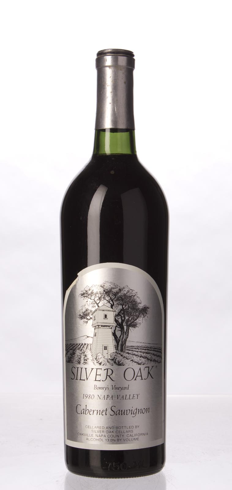 Silver Oak Cabernet Sauvignon Bonny`s Vineyard 1980, 750mL () from The BPW - Merchants of rare and fine wines.