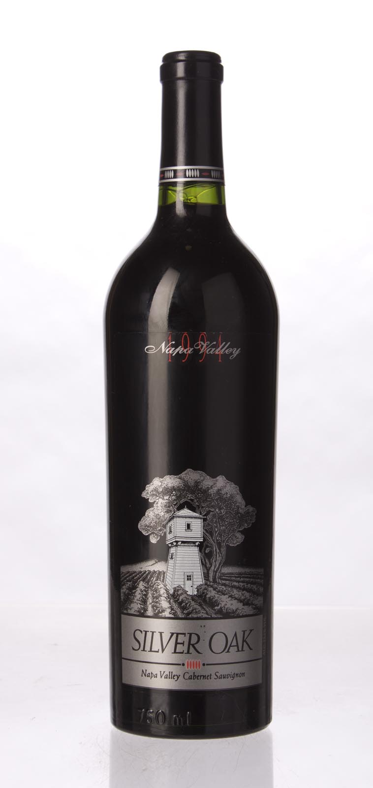 Silver Oak Cabernet Sauvignon Napa Valley 1991, 750mL (WA95) from The BPW - Merchants of rare and fine wines.