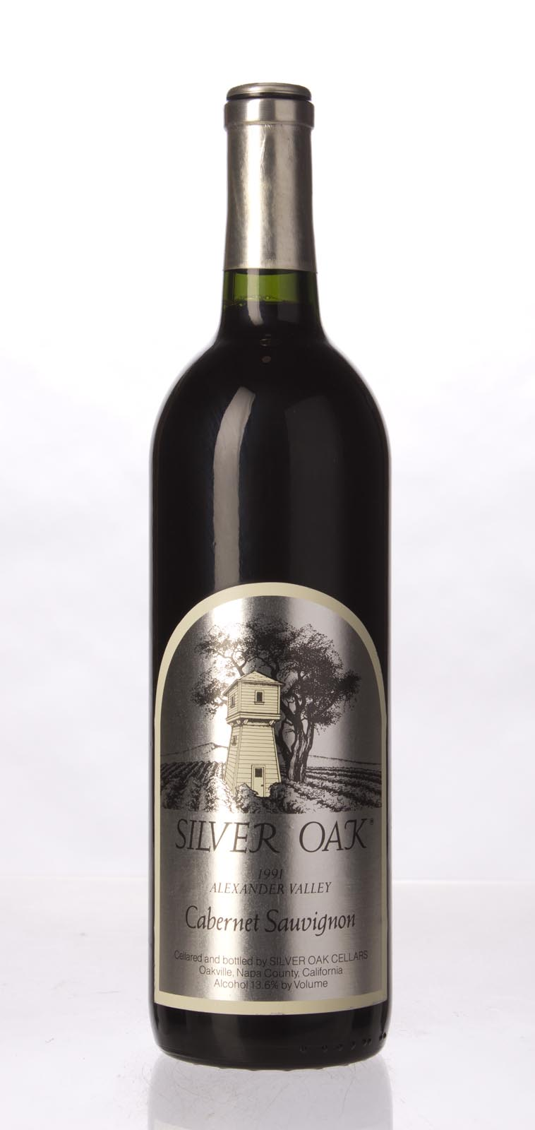 Silver Oak Cabernet Sauvignon Alexander Valley 1991, 750mL (WA92, WS91) from The BPW - Merchants of rare and fine wines.