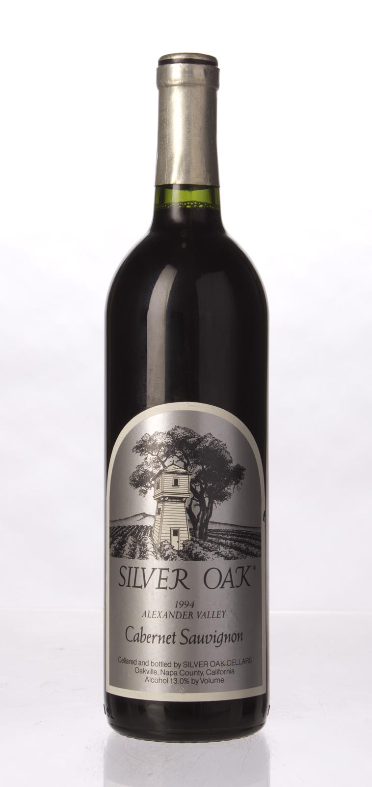 Silver Oak Cabernet Sauvignon Alexander Valley 1994, 750mL (WA93) from The BPW - Merchants of rare and fine wines.