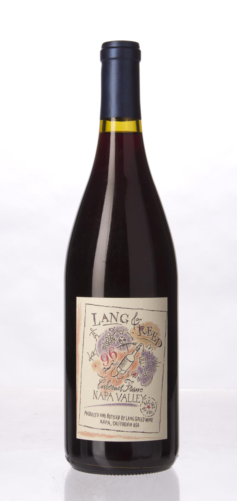 Lang & Reed Cabernet Franc 1996, 750mL () from The BPW - Merchants of rare and fine wines.