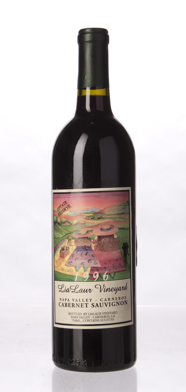Lia Laur Cabernet Sauvignon Estate Reserve 1996, 750mL () from The BPW - Merchants of rare and fine wines.