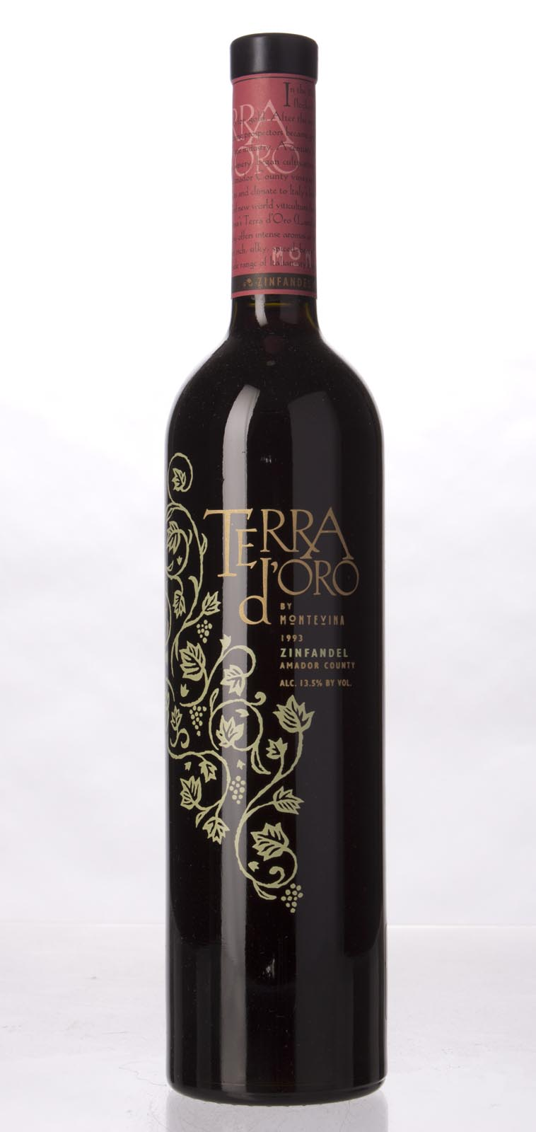 Montevina Zinfandel Terra d`Oro 1993, 750mL () from The BPW - Merchants of rare and fine wines.