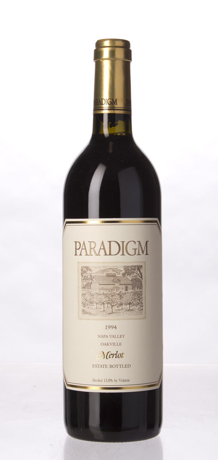 Paradigm Merlot Oakville Estate 1994, 750mL (WS92) from The BPW - Merchants of rare and fine wines.