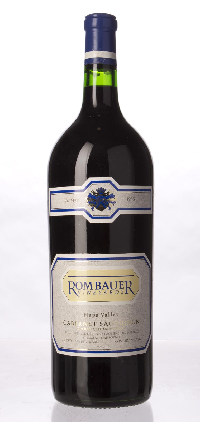 Rombauer Cabernet Sauvignon Napa Valley 1985, 1.5L () from The BPW - Merchants of rare and fine wines.
