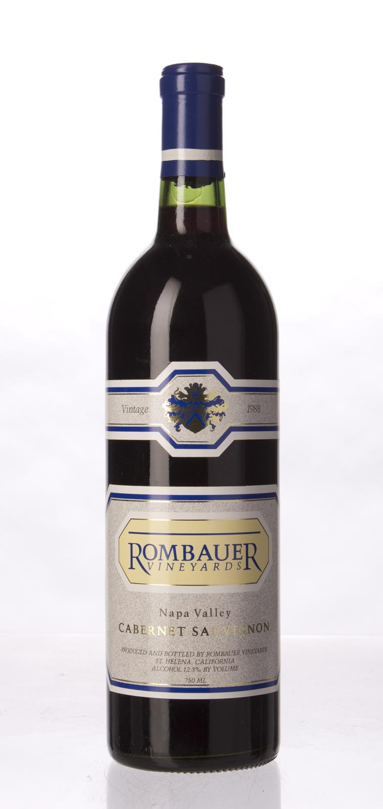 Rombauer Cabernet Sauvignon Napa Valley 1988, 750mL () from The BPW - Merchants of rare and fine wines.