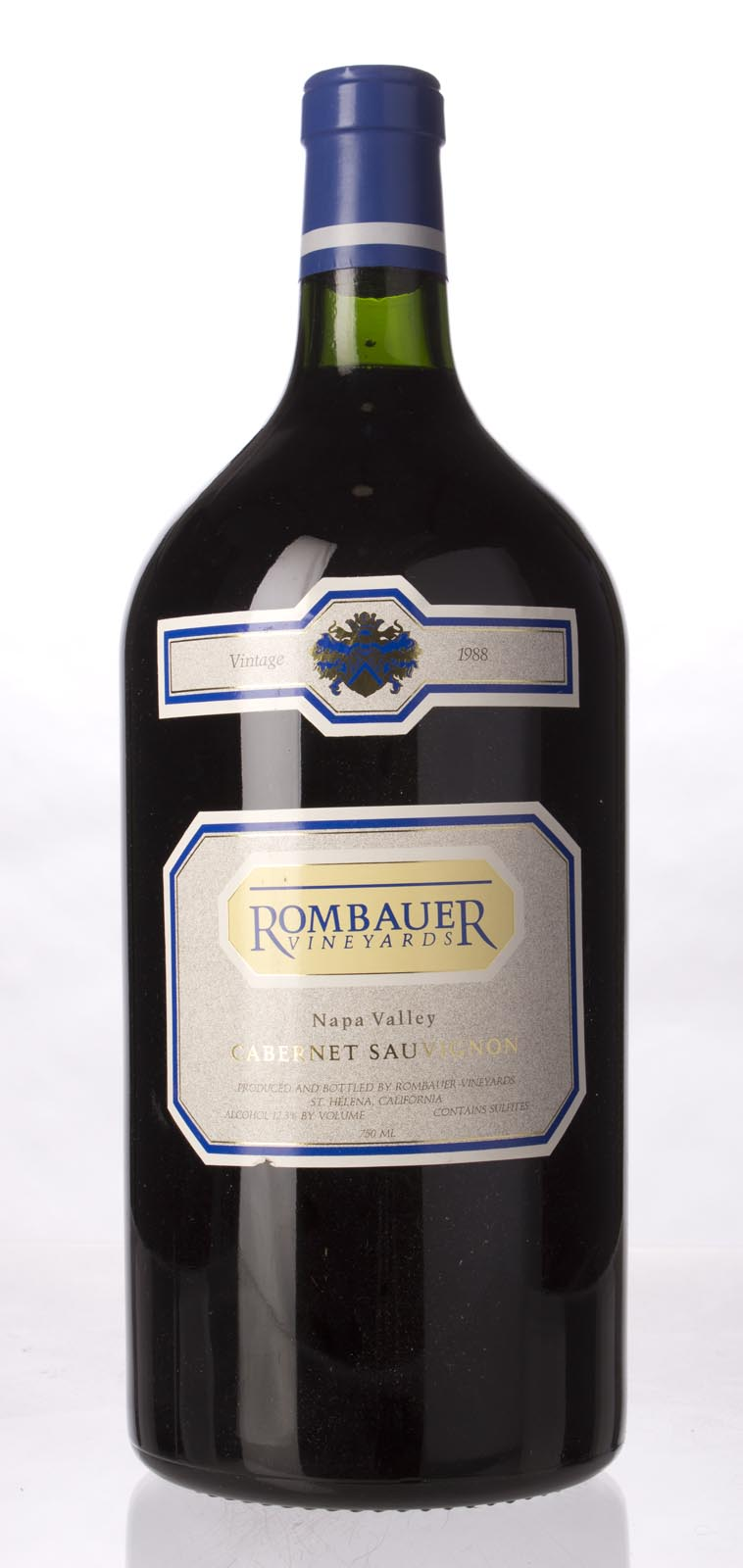 Rombauer Cabernet Sauvignon Napa Valley 1988, 3L () from The BPW - Merchants of rare and fine wines.