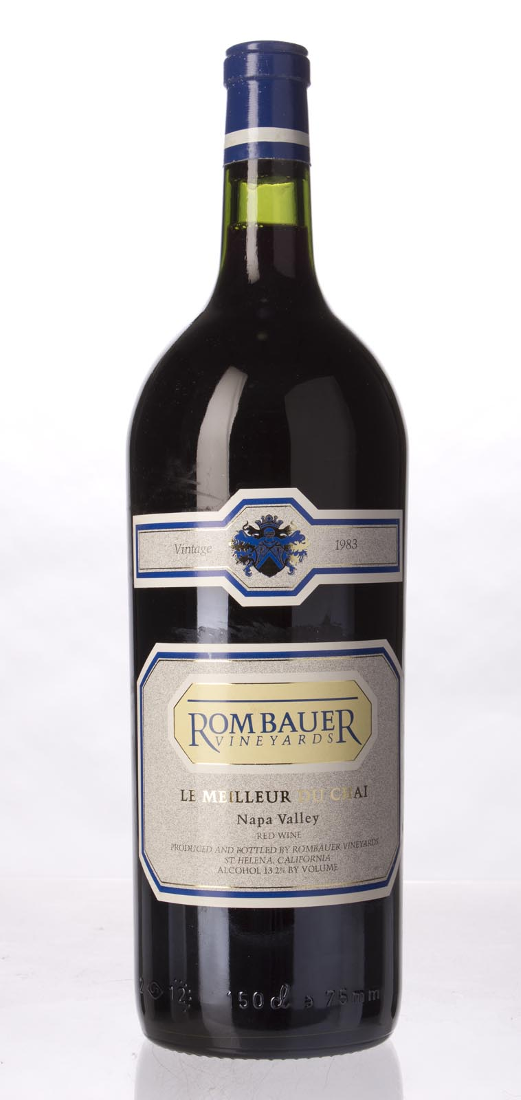 Rombauer Proprietary Red Le Meilleur de Chai 1983, 1.5L () from The BPW - Merchants of rare and fine wines.