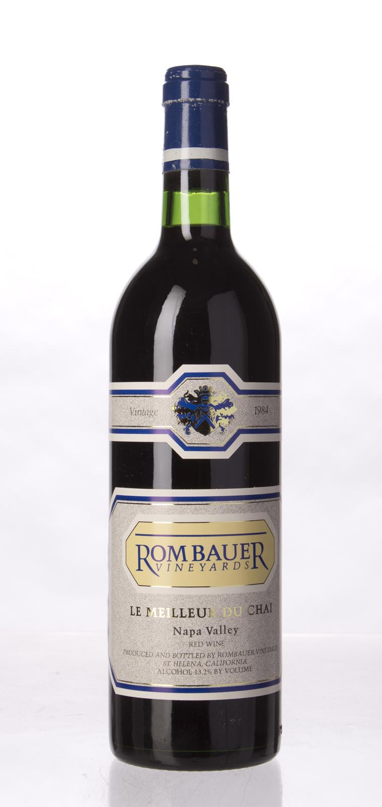 Rombauer Proprietary Red Le Meilleur de Chai 1984,  (WS94) from The BPW - Merchants of rare and fine wines.