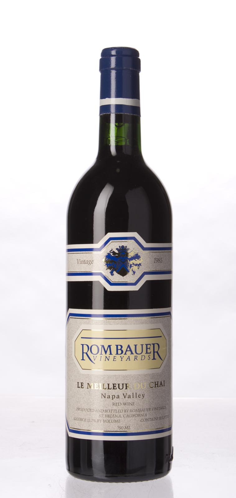 Rombauer Proprietary Red Le Meilleur de Chai 1985,  () from The BPW - Merchants of rare and fine wines.