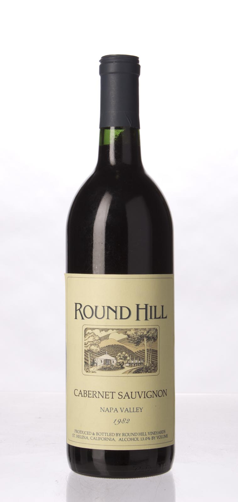 Round Hill Cabernet Sauvignon Napa Valley 1982, 750mL () from The BPW - Merchants of rare and fine wines.