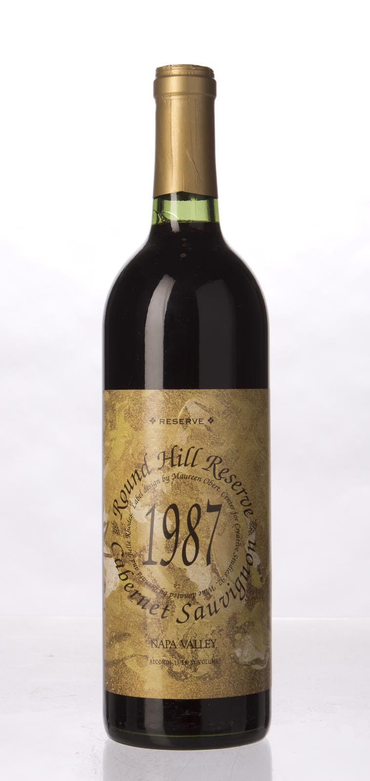 Round Hill Cabernet Sauvignon Napa Valley Reserve 1987, 750mL () from The BPW - Merchants of rare and fine wines.