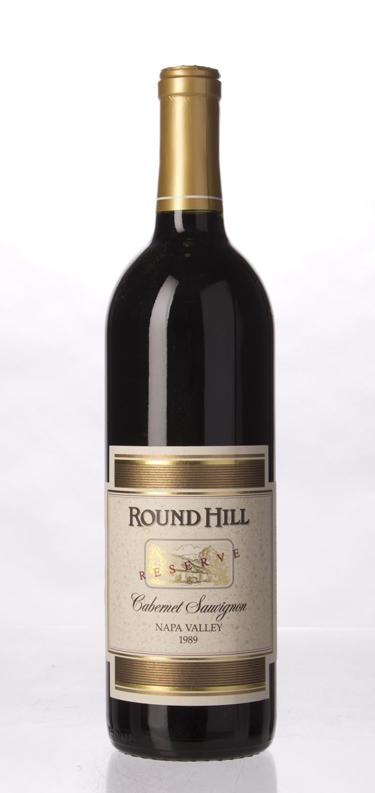 Round Hill Cabernet Sauvignon Napa Valley Reserve 1989, 750mL () from The BPW - Merchants of rare and fine wines.