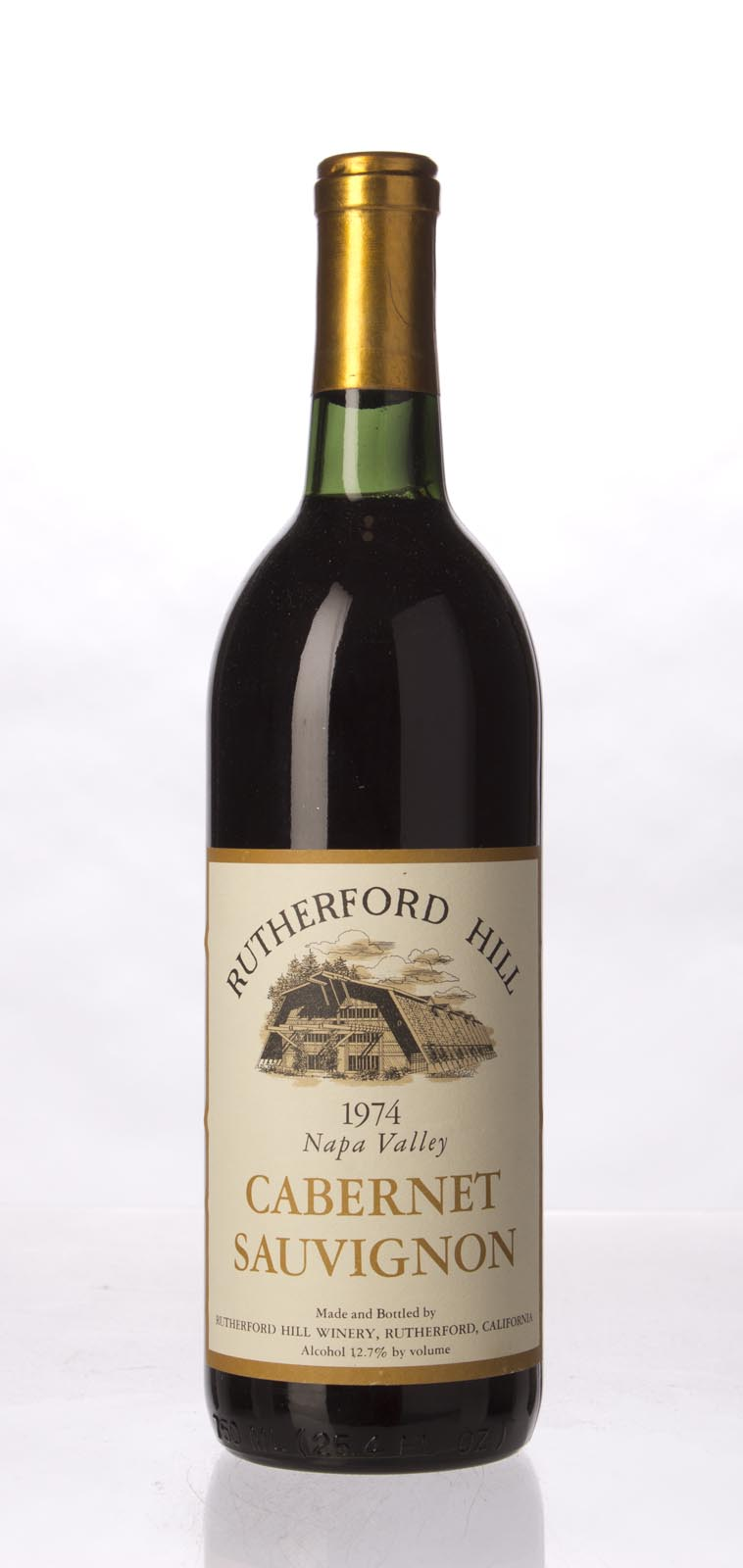 Rutherford Hill Cabernet Sauvignon Napa Valley 1974, 750mL () from The BPW - Merchants of rare and fine wines.