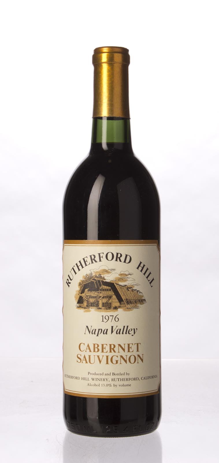 Rutherford Hill Cabernet Sauvignon Napa Valley 1976, 750mL () from The BPW - Merchants of rare and fine wines.