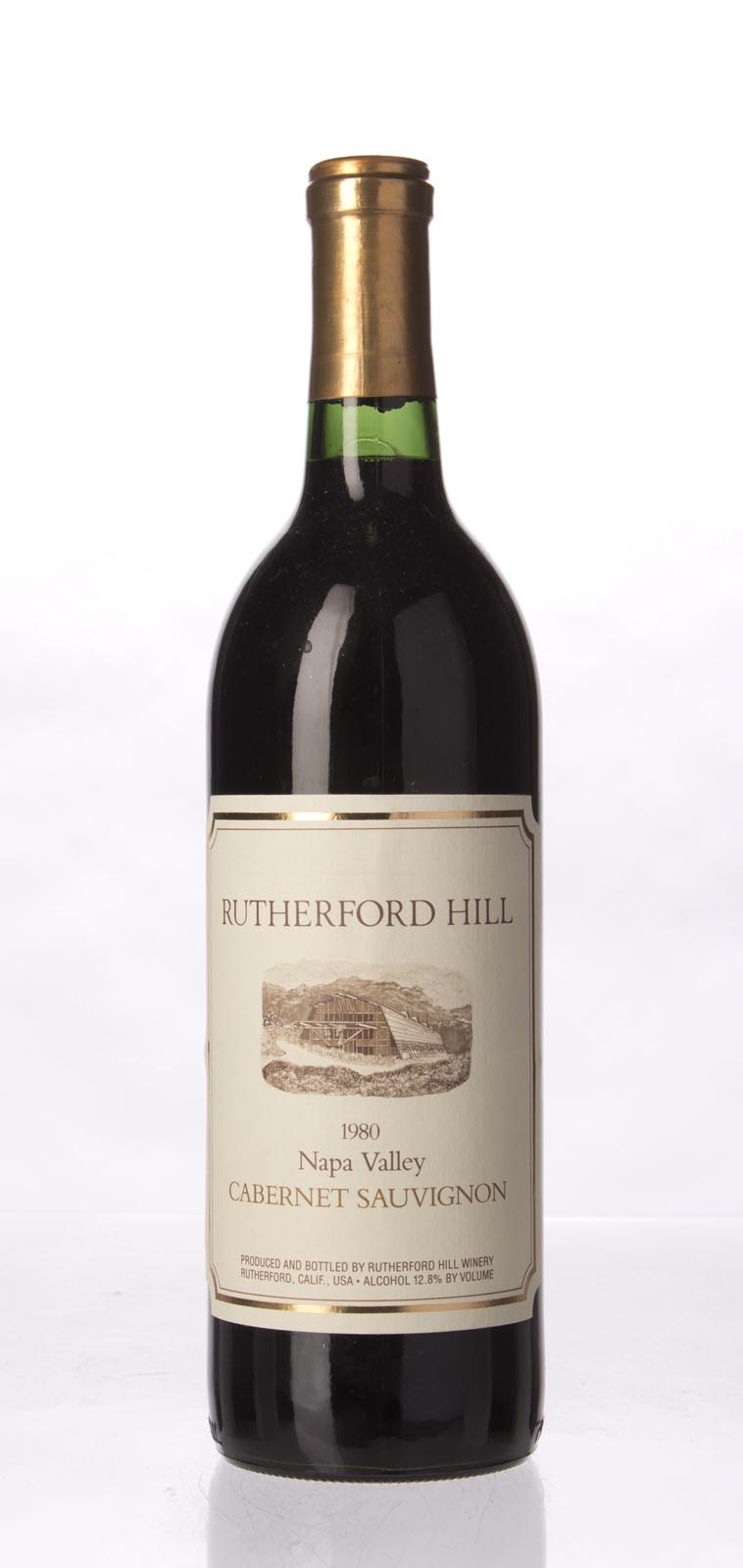 Rutherford Hill Cabernet Sauvignon Napa Valley 1980, 750mL () from The BPW - Merchants of rare and fine wines.