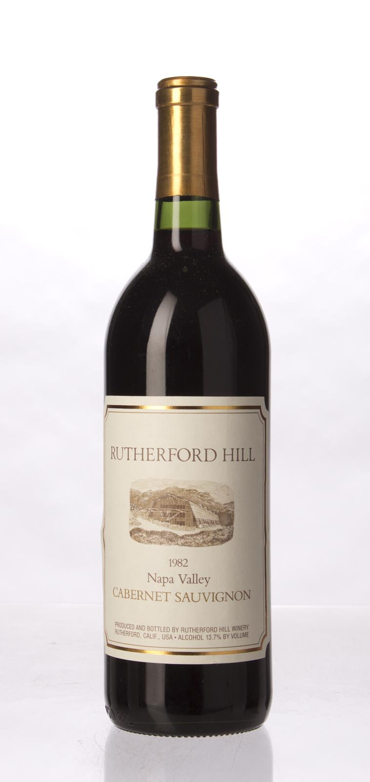 Rutherford Hill Cabernet Sauvignon Napa Valley 1982, 750mL () from The BPW - Merchants of rare and fine wines.