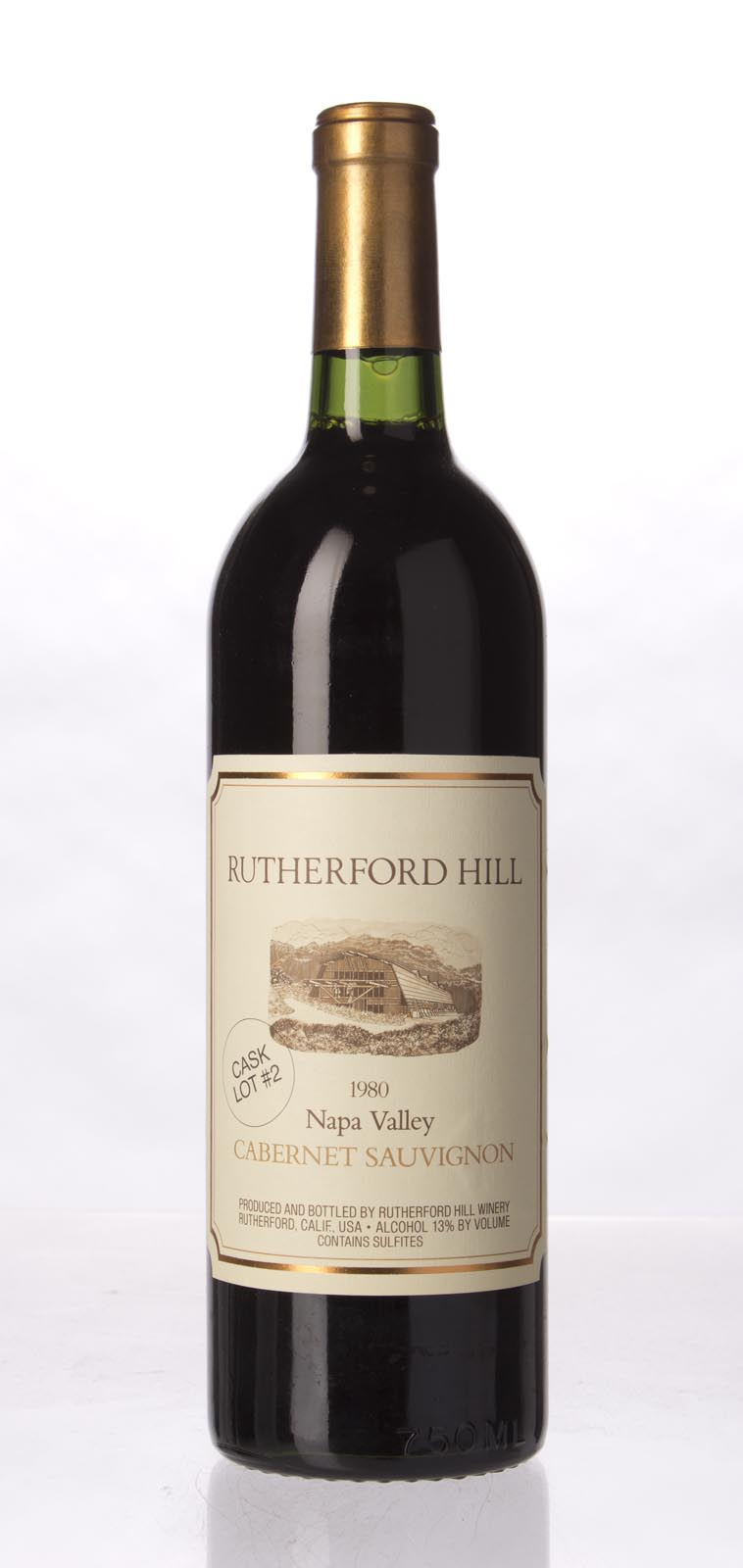 Rutherford Hill Cabernet Sauvignon Napa Valley Cask Lot 2 Limited Edition 1980, 750mL (WS92) from The BPW - Merchants of rare and fine wines.