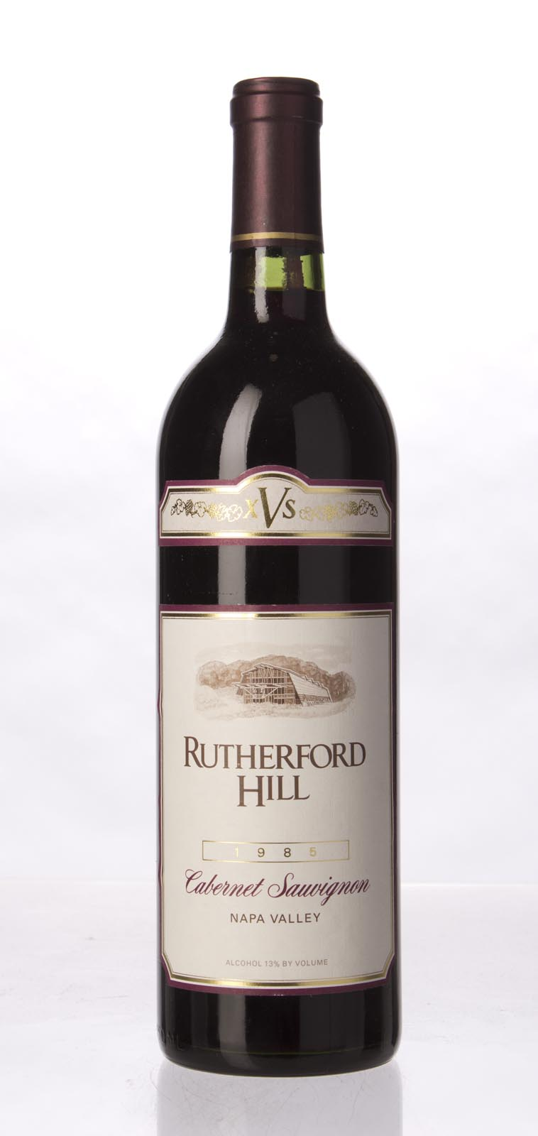 Rutherford Hill Cabernet Sauvignon XVS 1985, 750mL () from The BPW - Merchants of rare and fine wines.