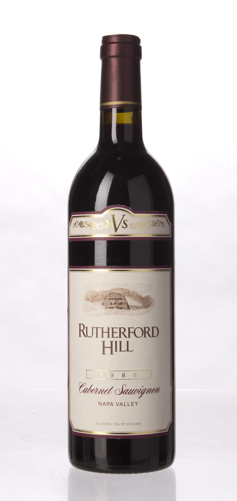 Rutherford Hill Cabernet Sauvignon XVS 1986, 750mL () from The BPW - Merchants of rare and fine wines.