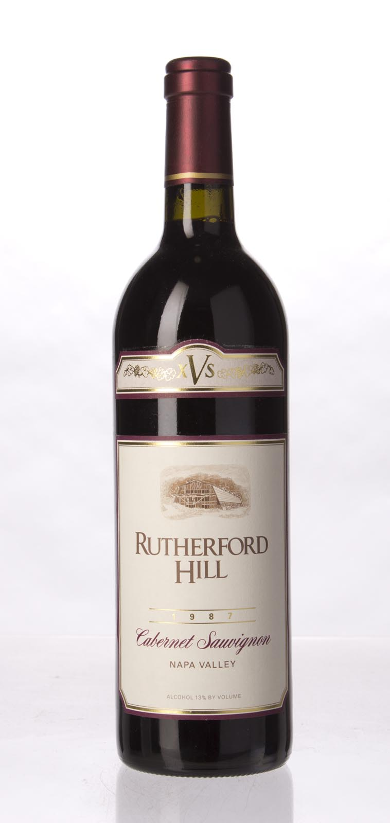 Rutherford Hill Cabernet Sauvignon XVS 1987, 750mL () from The BPW - Merchants of rare and fine wines.