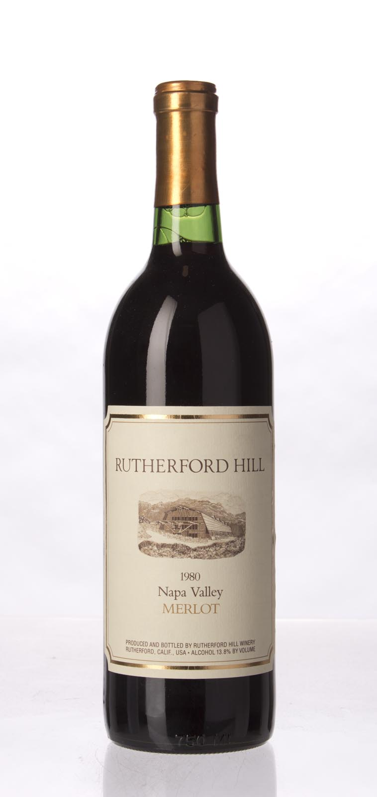 Rutherford Hill Merlot 1980, 750mL () from The BPW - Merchants of rare and fine wines.
