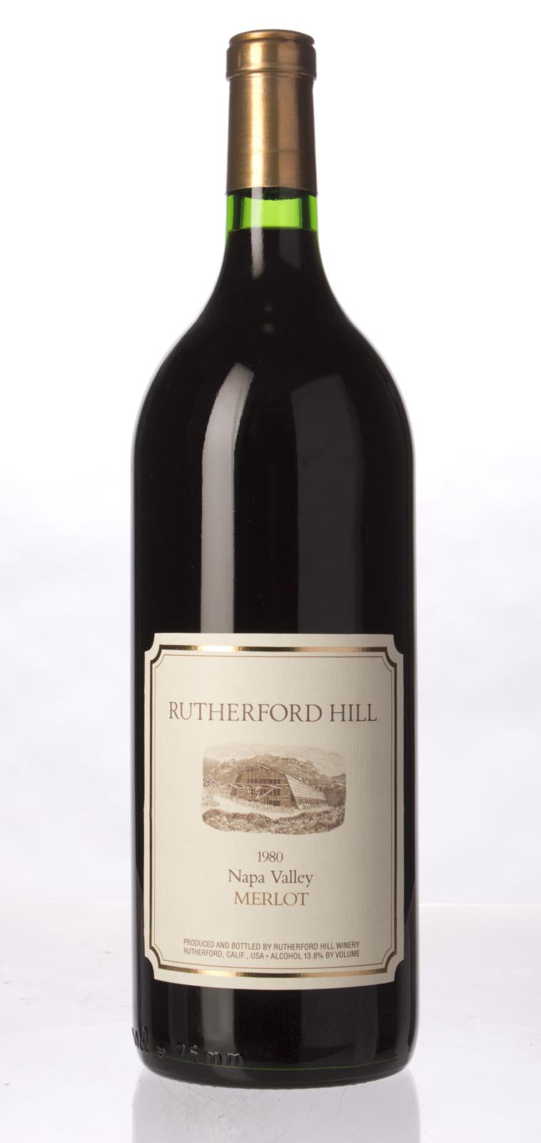 Rutherford Hill Merlot 1980, 1.5L () from The BPW - Merchants of rare and fine wines.