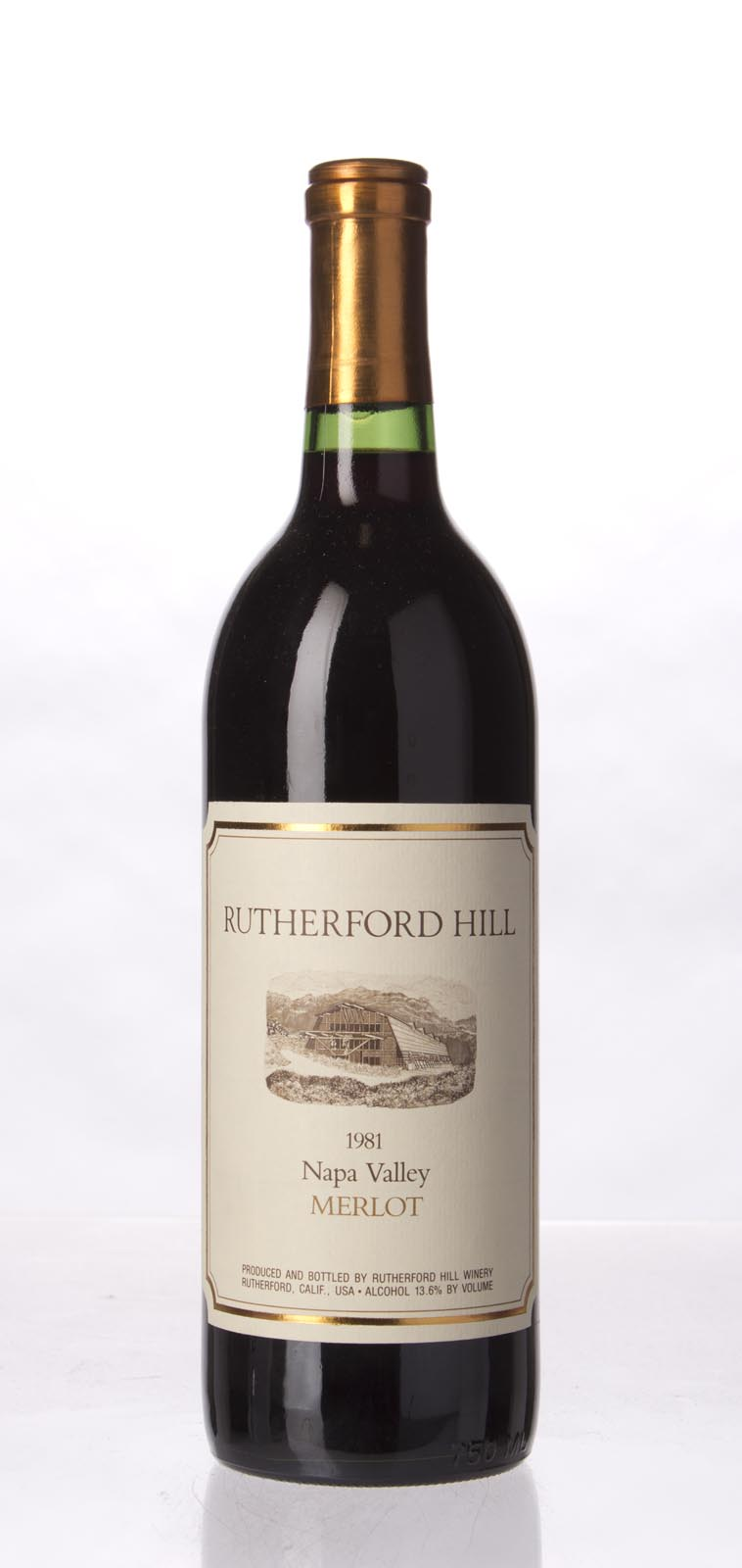 Rutherford Hill Merlot 1981, 750mL () from The BPW - Merchants of rare and fine wines.