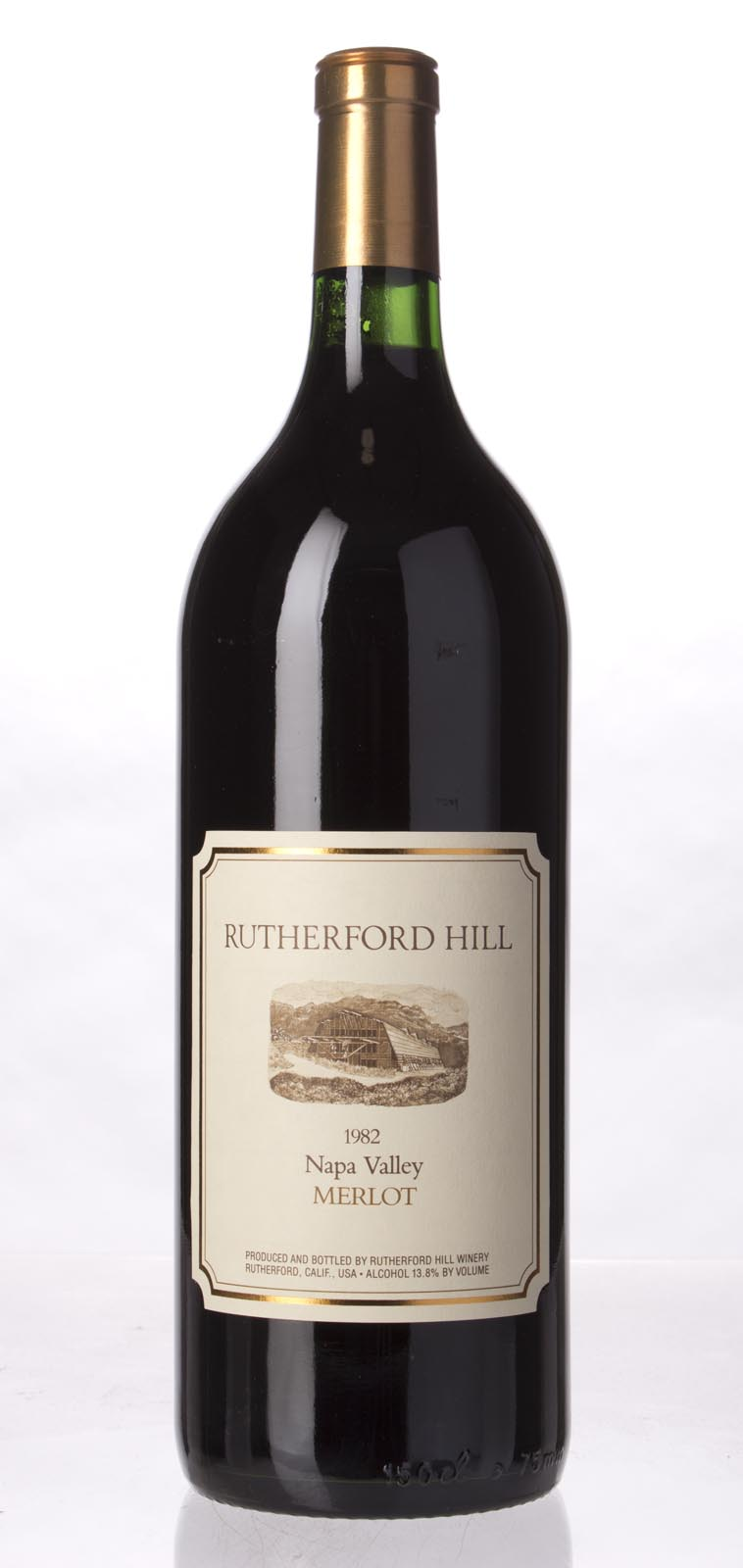 Rutherford Hill Merlot 1982, 1.5L () from The BPW - Merchants of rare and fine wines.