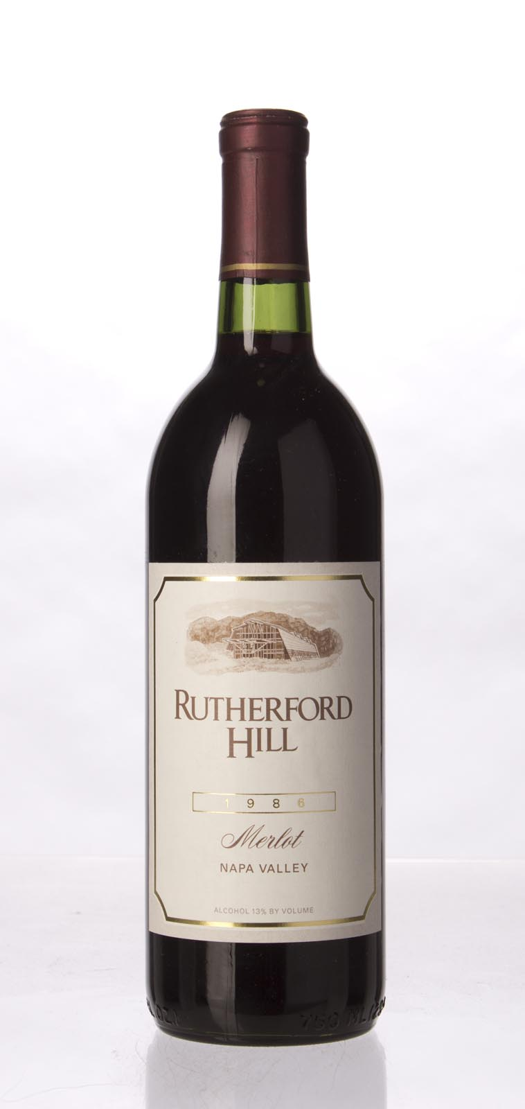 Rutherford Hill Merlot 1986, 750mL () from The BPW - Merchants of rare and fine wines.