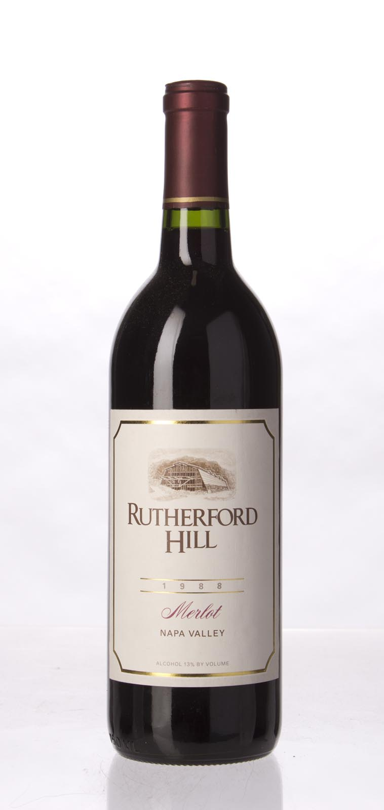 Rutherford Hill Merlot 1988, 750mL () from The BPW - Merchants of rare and fine wines.