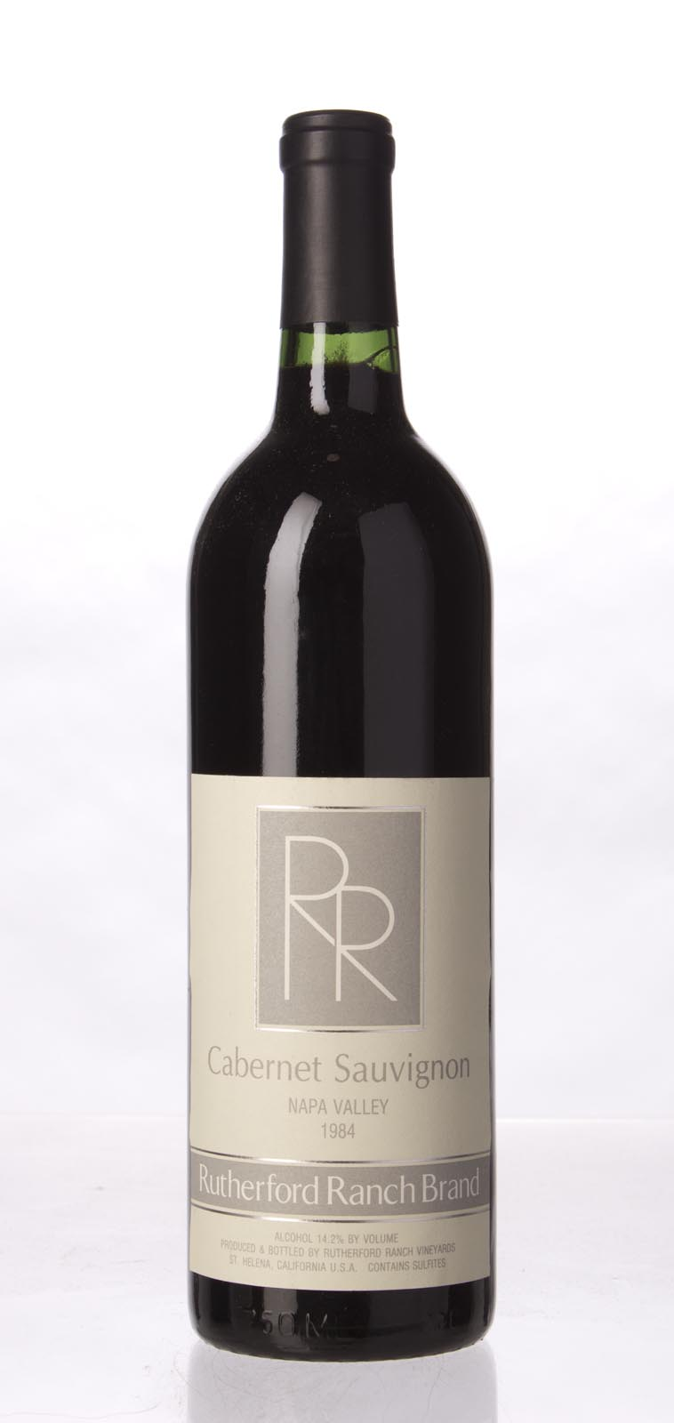 Rutherford Ranch Cabernet Sauvignon Napa Valley 1984, 750mL () from The BPW - Merchants of rare and fine wines.