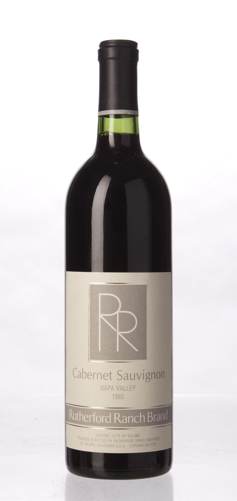 Rutherford Ranch Cabernet Sauvignon Napa Valley 1985,  (WS92) from The BPW - Merchants of rare and fine wines.