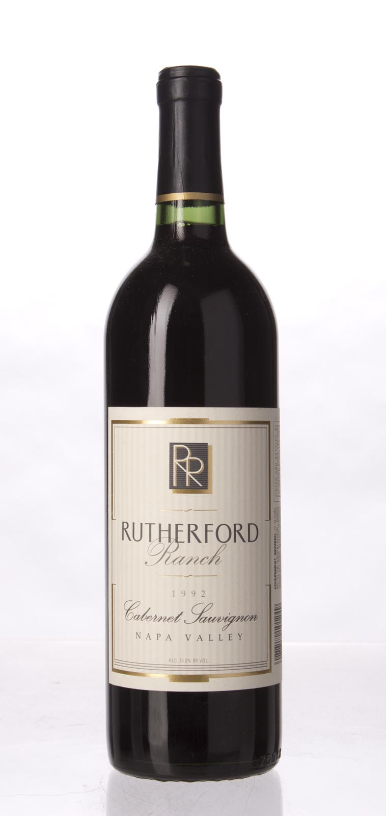 Rutherford Ranch Cabernet Sauvignon Napa Valley 1992, 750mL () from The BPW - Merchants of rare and fine wines.