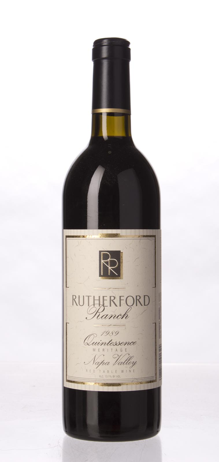 Rutherford Ranch Proprietary Red Quintessence 1989, 750mL () from The BPW - Merchants of rare and fine wines.