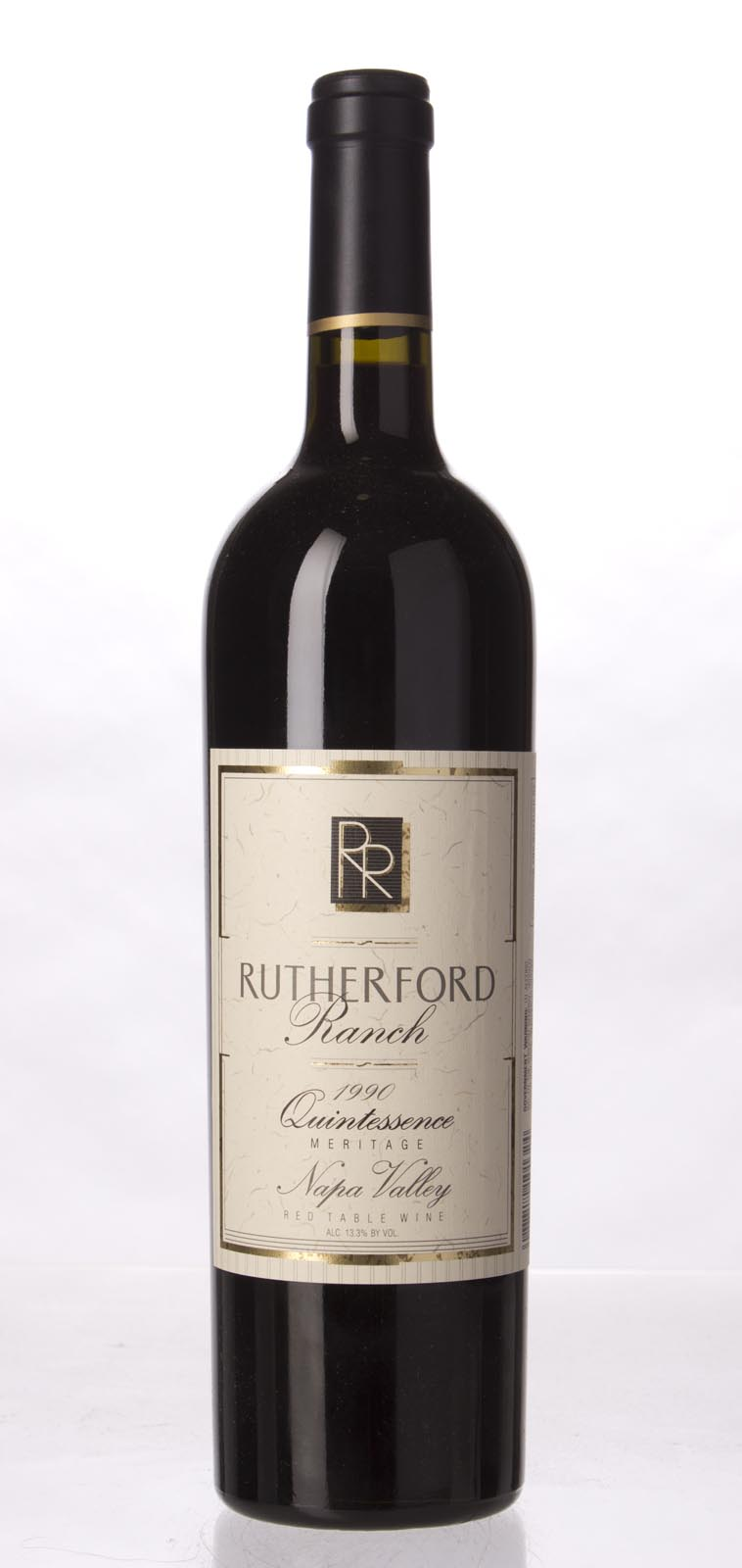Rutherford Ranch Proprietary Red Quintessence 1990,  () from The BPW - Merchants of rare and fine wines.