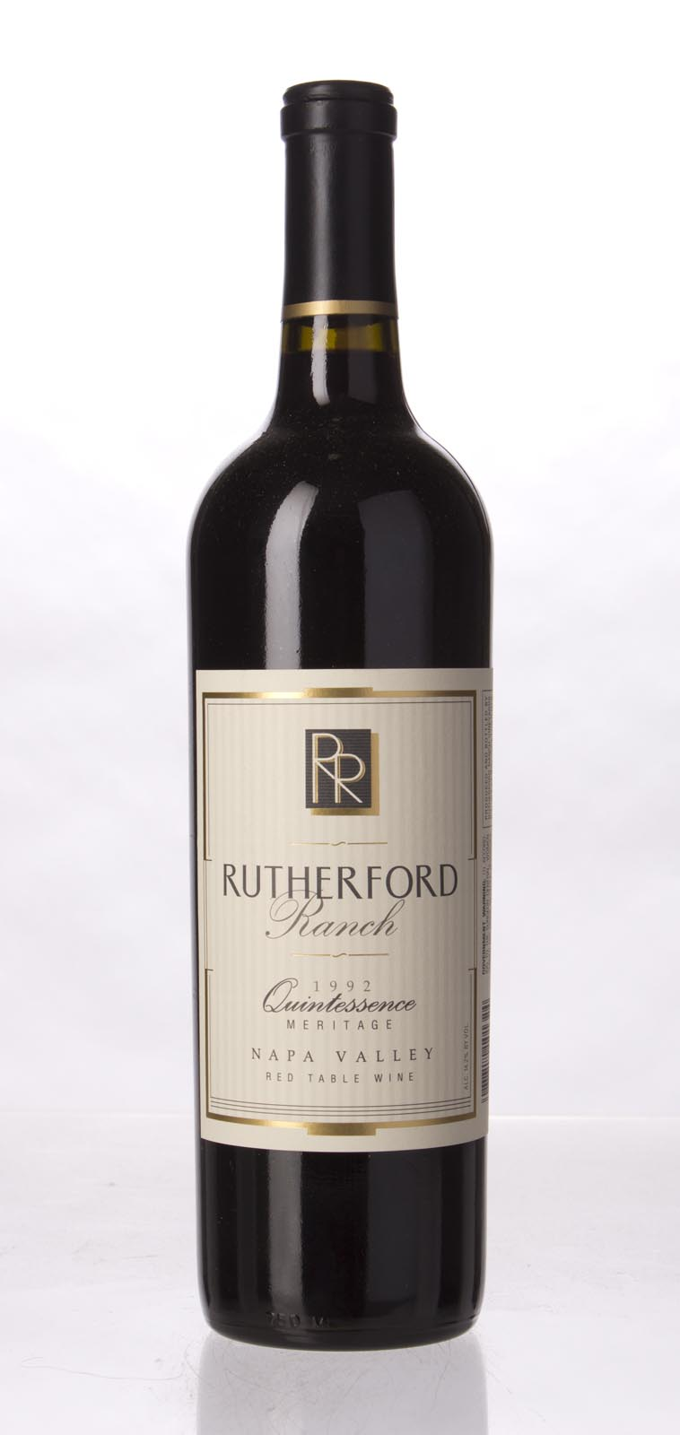 Rutherford Ranch Proprietary Red Quintessence 1992, 750mL () from The BPW - Merchants of rare and fine wines.