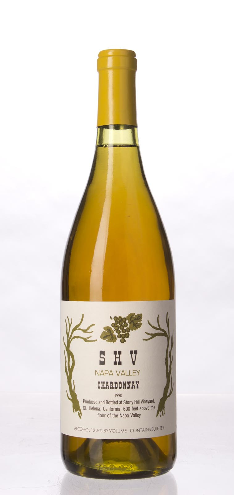 Stony Hill Vineyard Chardonnay SHV 1990, 750mL () from The BPW - Merchants of rare and fine wines.