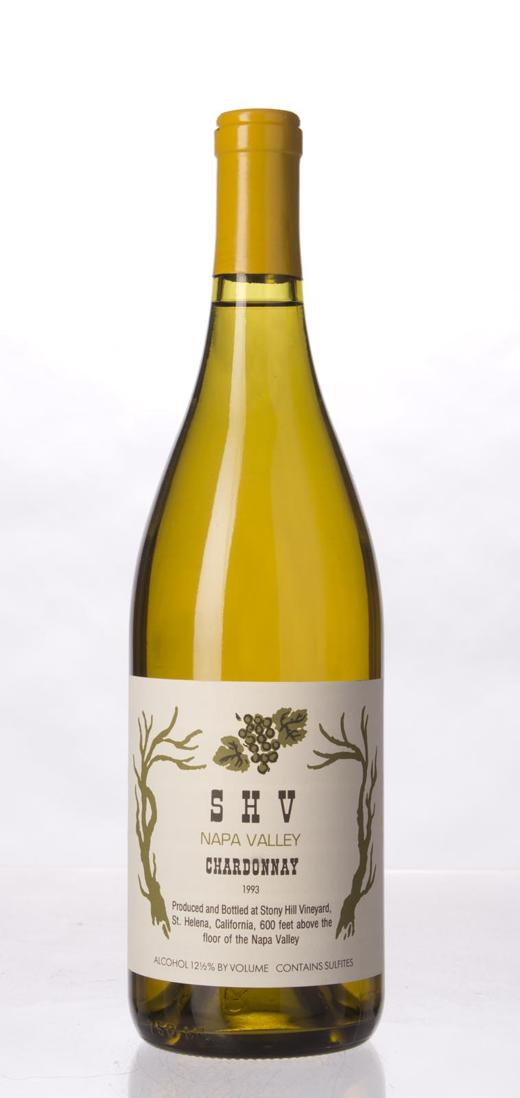 Stony Hill Vineyard Chardonnay SHV 1993, 750mL () from The BPW - Merchants of rare and fine wines.