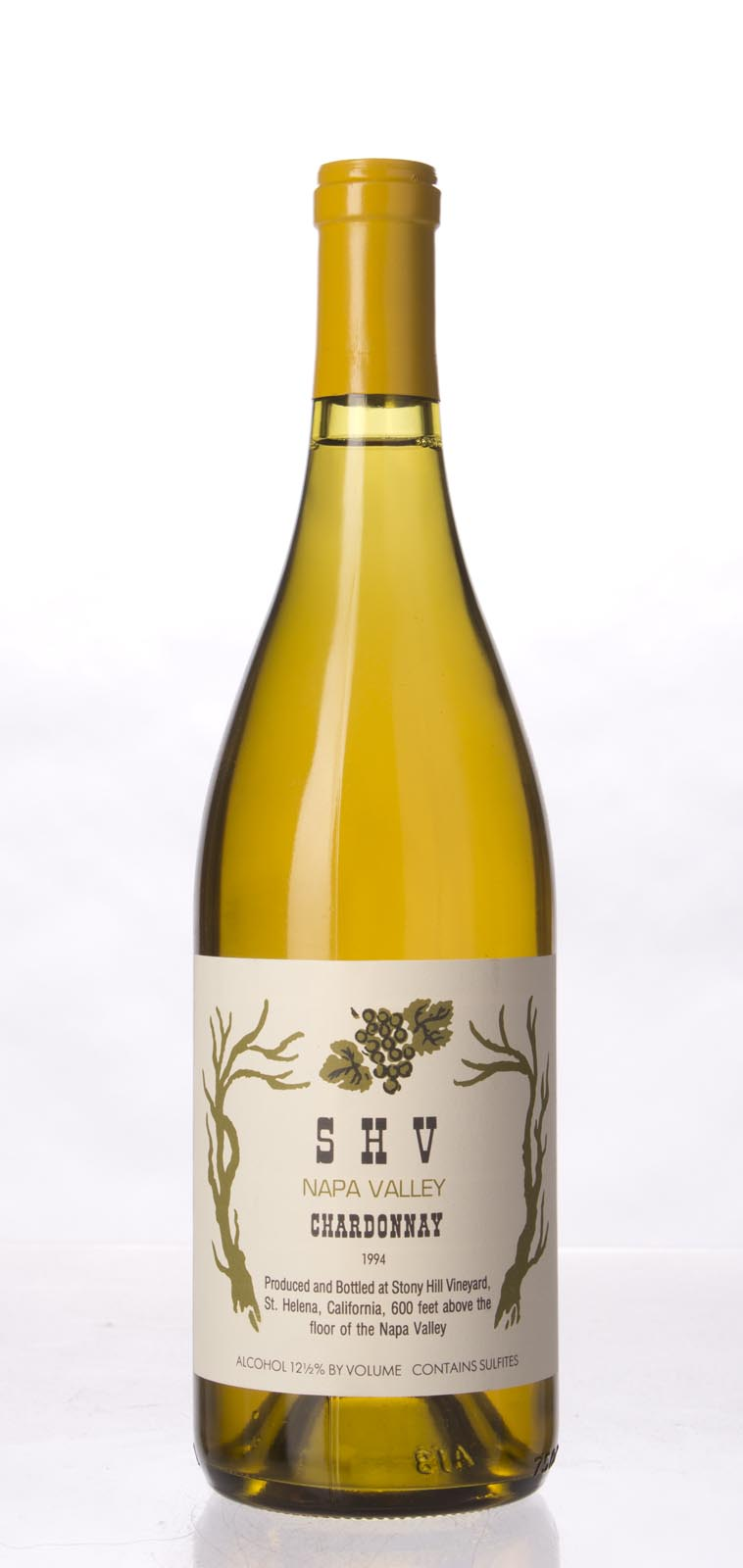Stony Hill Vineyard Chardonnay SHV 1994, 750mL () from The BPW - Merchants of rare and fine wines.