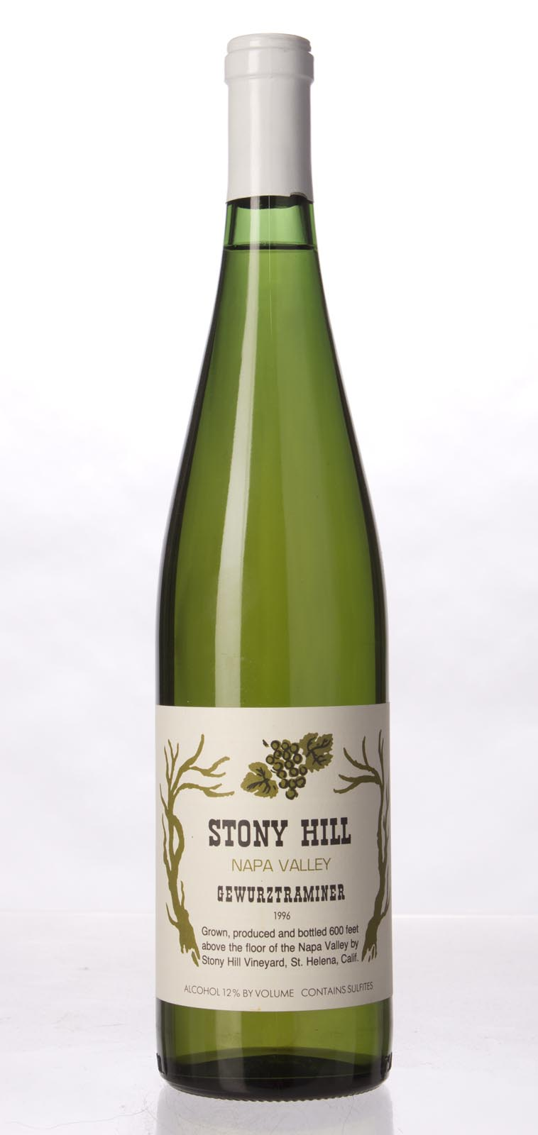 Stony Hill Vineyard Gewurztraminer Napa Valley 1996, 750mL () from The BPW - Merchants of rare and fine wines.