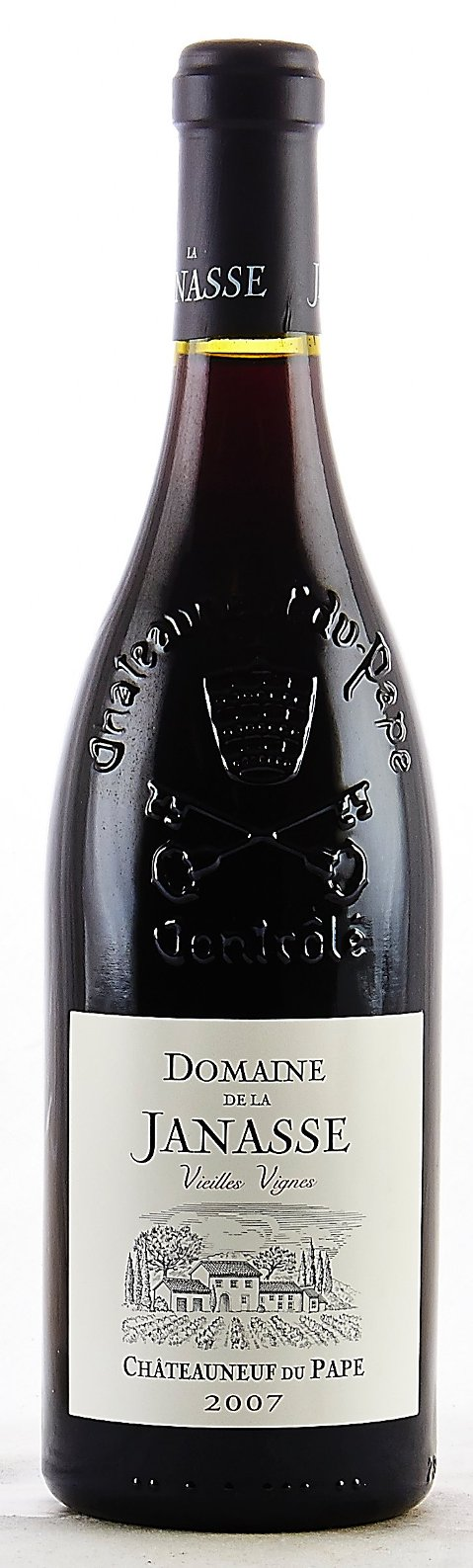 Domaine de la Janasse Chateauneuf du Pape Cuvee Vieilles Vignes 2011, 750ml (WA96) from The BPW - Merchants of rare and fine wines.