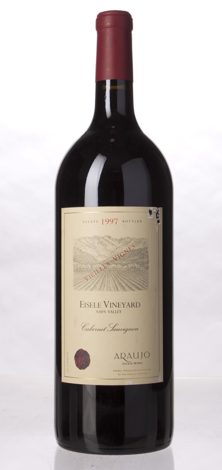 Araujo Estate Cabernet Sauvignon Eisele Vineyard 1997, 1.5L (WS94) from The BPW - Merchants of rare and fine wines.