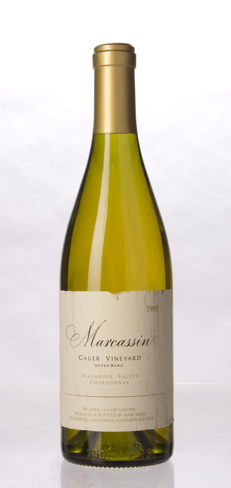 Marcassin Chardonnay Alexander Mountain Estate Upper Barn 1992, 750mL (WA97) from The BPW - Merchants of rare and fine wines.