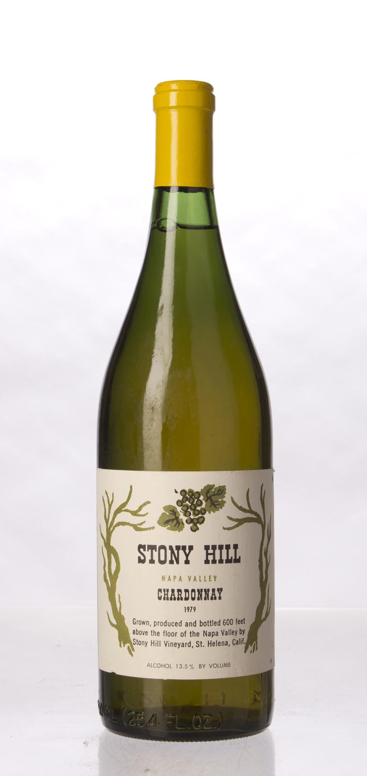 Stony Hill Vineyard Chardonnay Napa Valley 1979, 750mL () from The BPW - Merchants of rare and fine wines.