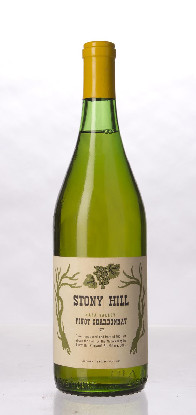 Stony Hill Vineyard Pinot Chardonnay Napa Valley 1973, 750mL () from The BPW - Merchants of rare and fine wines.