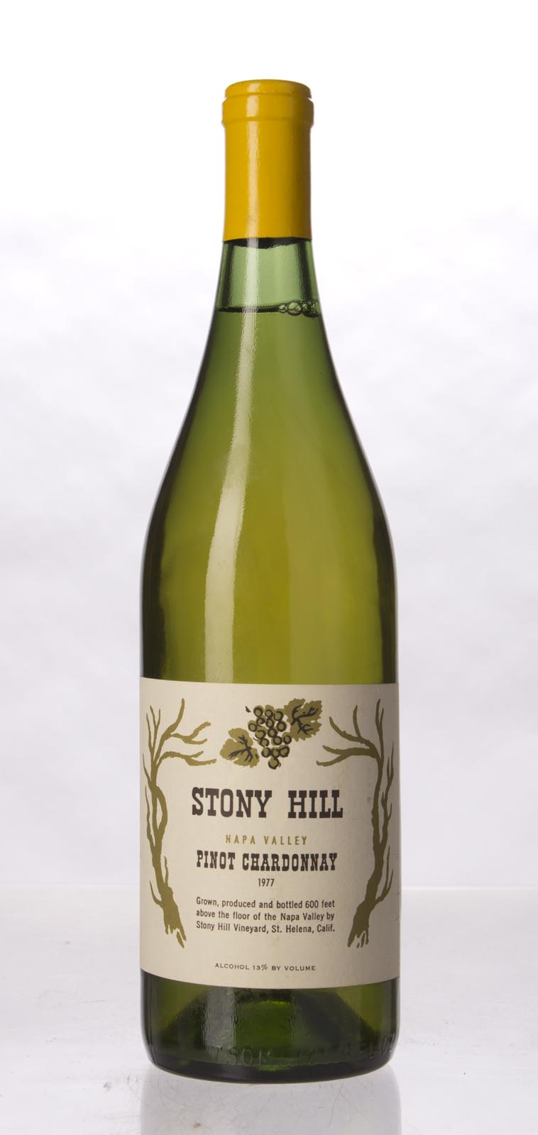 Stony Hill Vineyard Pinot Chardonnay Napa Valley 1977, 750mL () from The BPW - Merchants of rare and fine wines.