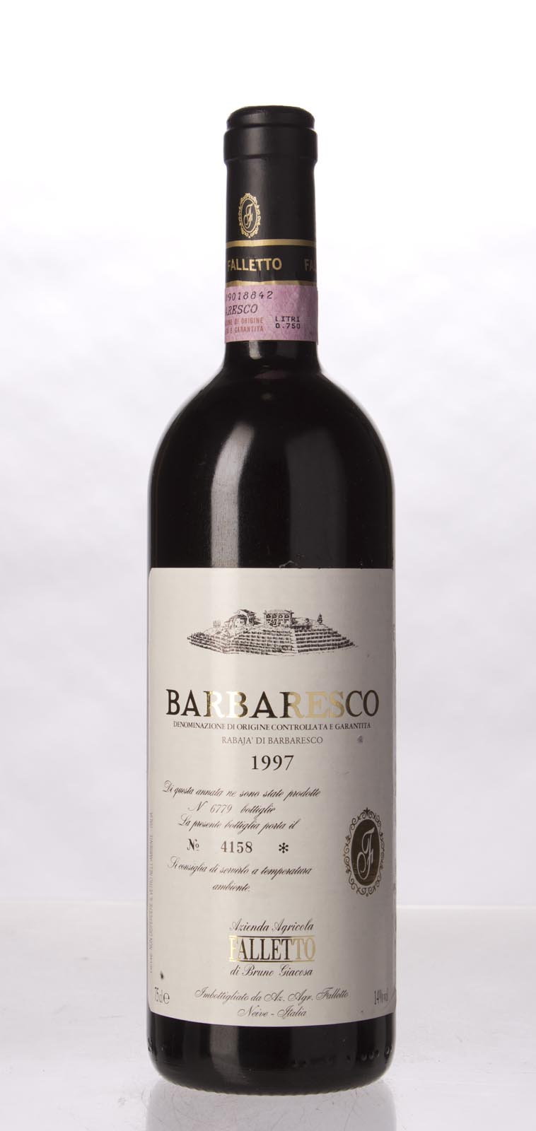 Bruno Giacosa Barbaresco Rabaja 1997, 750ml (WA96) from The BPW - Merchants of rare and fine wines.
