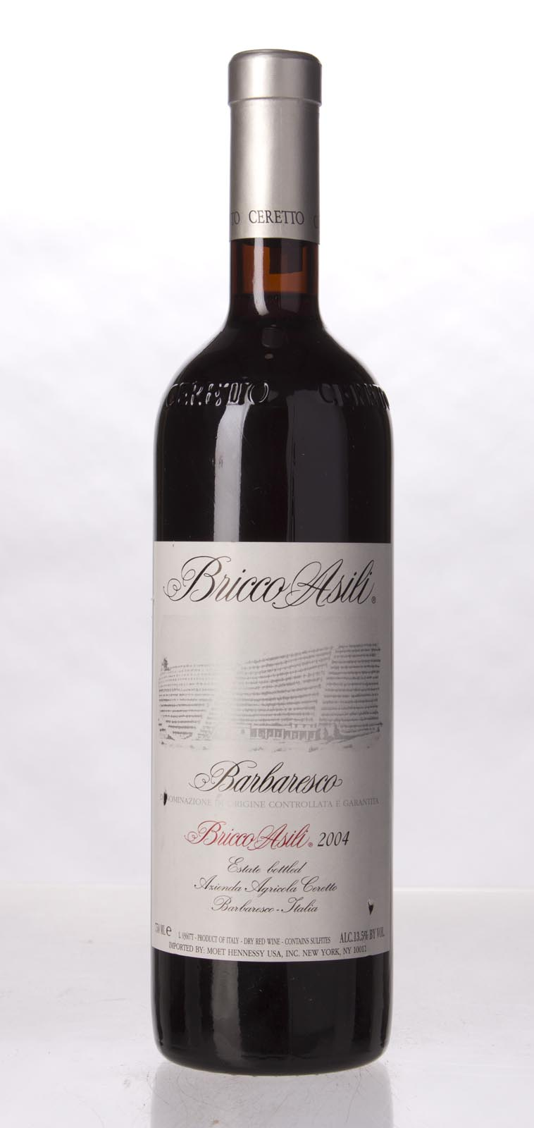 Ceretto Barbaresco Bricco Asili 2004, 750mL (WA94, ST92+, WS94) from The BPW - Merchants of rare and fine wines.