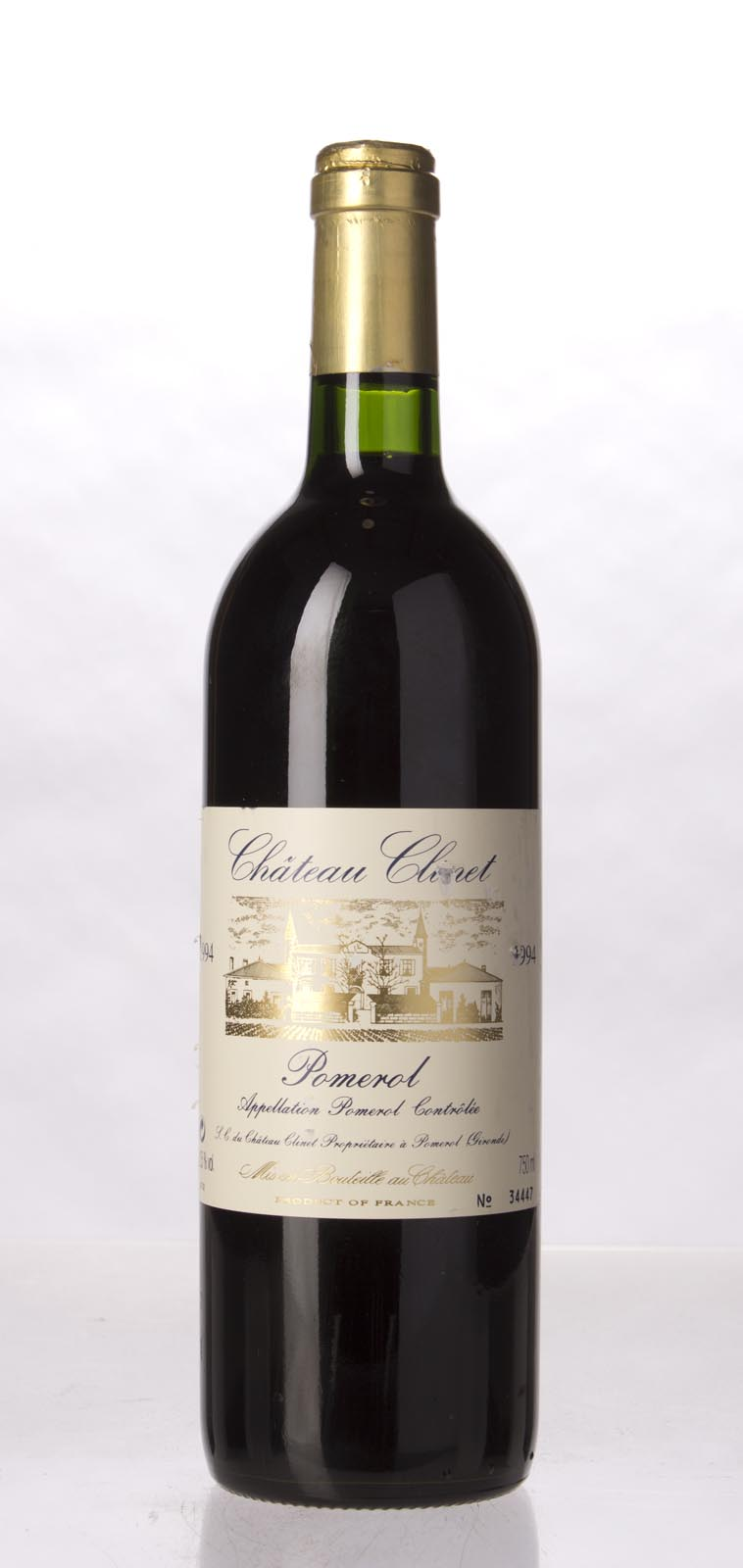 Clinet 1994, 750mL (WA92, WS93) from The BPW - Merchants of rare and fine wines.